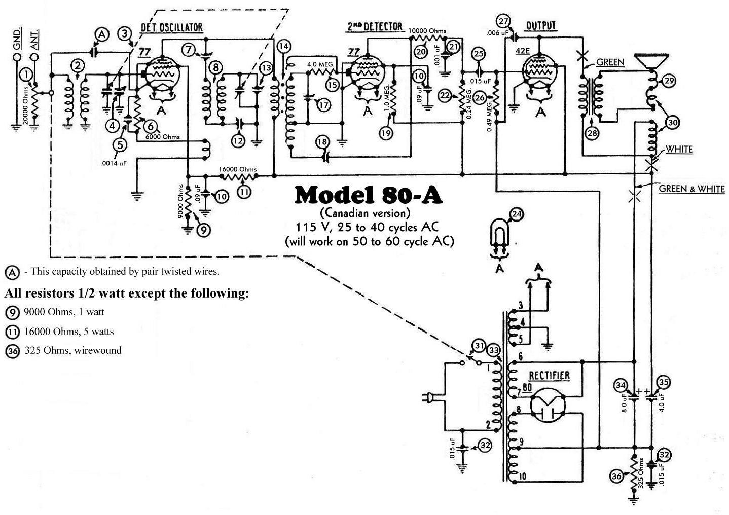 early schematics  u2013 philco library