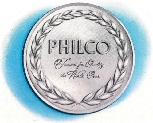 Philco - Famous for Quality the World Over
